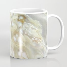 Shimmery Pearly Abalone Shell Coffee Mug