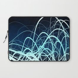 Blue Movement2 Laptop Sleeve