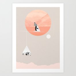 FROM EARTH Art Print