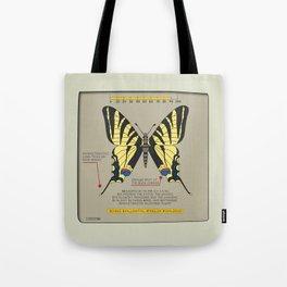 Scarce Svallowtail (Iphiclide Podalirius) Tote Bag