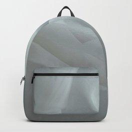 Sheer White Fabric Backpack