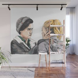 Jug and Betty Wall Mural