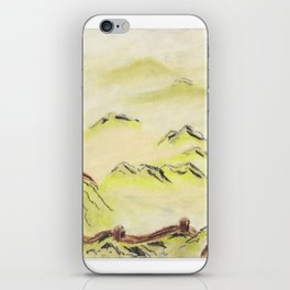 Great Wall (1 of 3) iPhone Skin