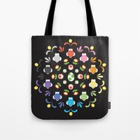 yoshi Tote Bags featuring Yoshi Prism by Ashley Hay