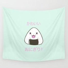 Cute Onigiri Kawaii ^.~ Wall Tapestry