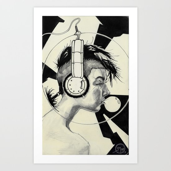 006 Bubble Art Print