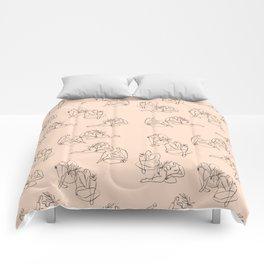 Summer Lines pattern Comforters