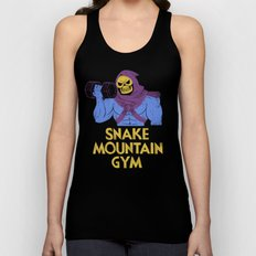 snake mountain gym Unisex Tank Top