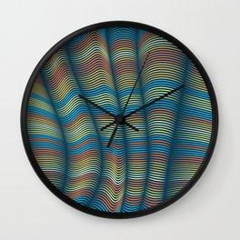 Flexible Lines 07 Wall Clock
