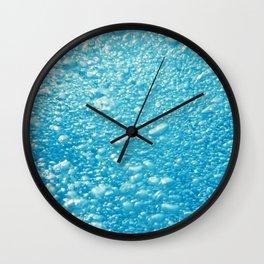 Bubbles Underwater Wall Clock