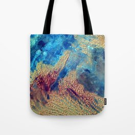 Sahara Desert From the Space Station Tote Bag