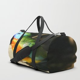 Scarlet-chested Parrot ( splendida ) Duffle Bag