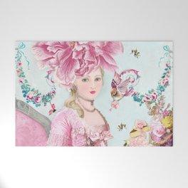 Marie Antoinette Wallflower Welcome Mat