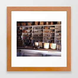 Ghost Store Framed Art Print