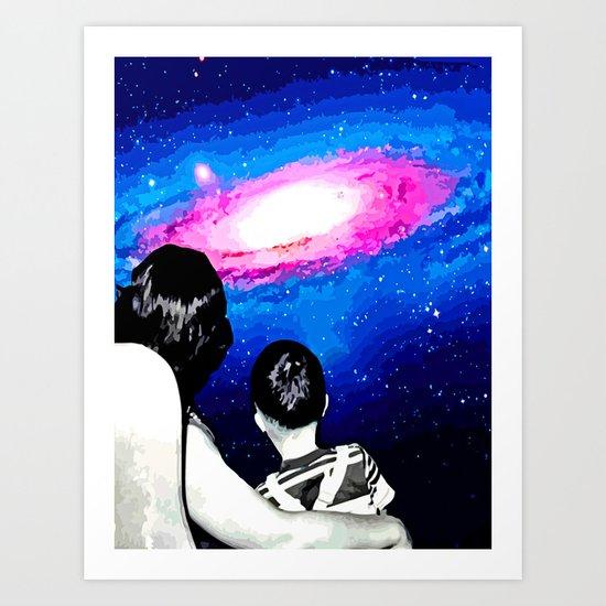 WIDESCOPIC Art Print