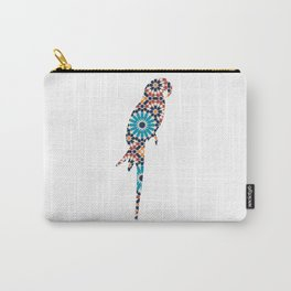 PARROT SILHOUETTE WITH PATTERN Carry-All Pouch