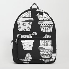 Cute Cactus Succulent Lover Gift Backpack