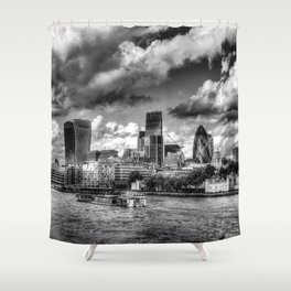 Iconic London Shower Curtain