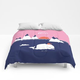 Little Whale Comforters
