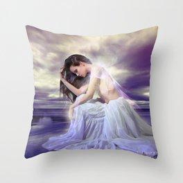 Orinoco Flow Throw Pillow