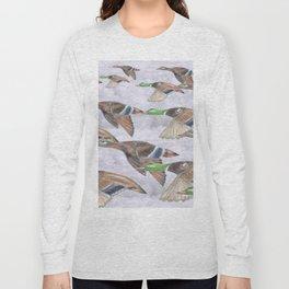""" Migration "" Long Sleeve T-shirt"