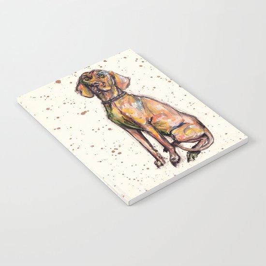 Hungarian Vizsla Dog Notebook