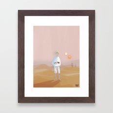 Farmer Boy Framed Art Print