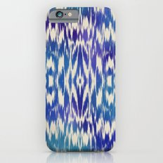 Ikat: Blue Multi Slim Case iPhone 6