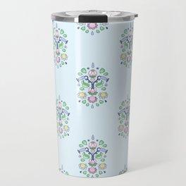 Cartoon Kurbits - Flower Tapestry Travel Mug