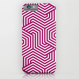 Jazzberry jam - violet - Minimal Vector Seamless Pattern iPhone Case