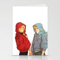 johannathemad Stationery Cards featuring hoodies by JohannaTheMad