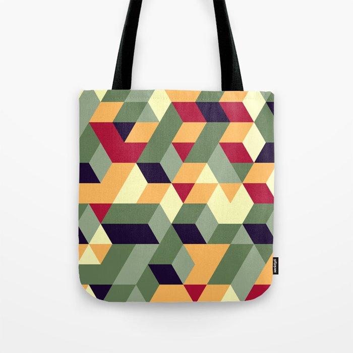 Cube way Tote Bag