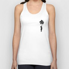 Banksy Fly Away  Unisex Tank Top