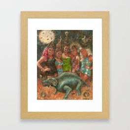 Martin Denny Excavation Party Framed Art Print