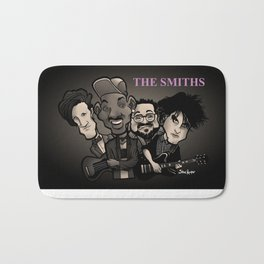 The Smiths (black version) Bath Mat