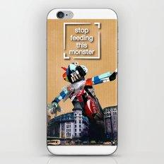 garbage monster iPhone & iPod Skin