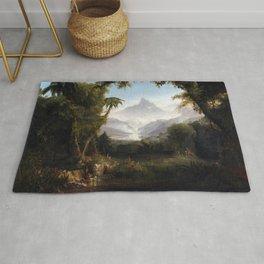 Thomas Cole The Garden of Eden Rug