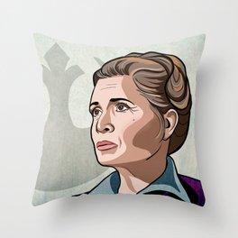 General Organa Throw Pillow