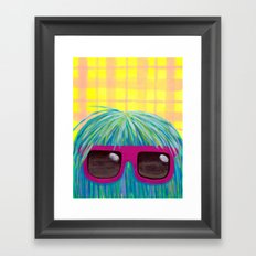 Johnny Framed Art Print