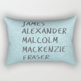 James Alexander Malcom Mackenzie Frazer Rectangular Pillow