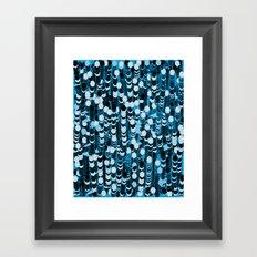 color hiving 2 colors Framed Art Print
