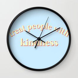 primary tpwk Wall Clock