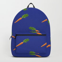 a basket full of carrots Backpack