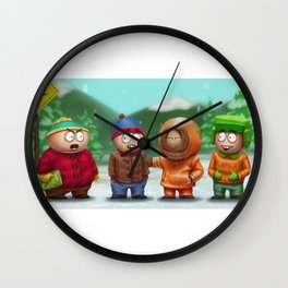 SP Boys Wall Clock