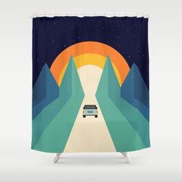 Wonderful Trip Shower Curtain