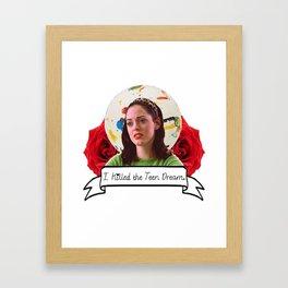 Jawbreaker (Rose McGowan) Framed Art Print