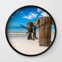Gnawed Wall Clock