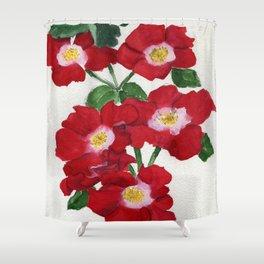 Rosie Posies Shower Curtain