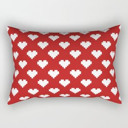 Valentine's Day Pattern Rectangular Pillow