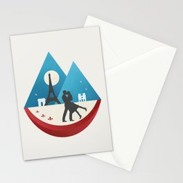Le Baiser - French Kiss Stationery Cards